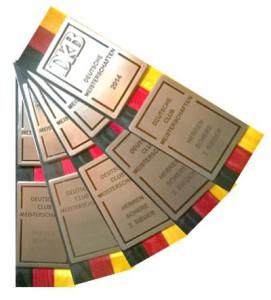 Medaillen deutscher Meister